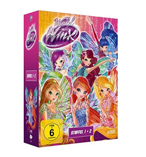 World of Winx - Staffel 1 + 2 [4 DVDs]