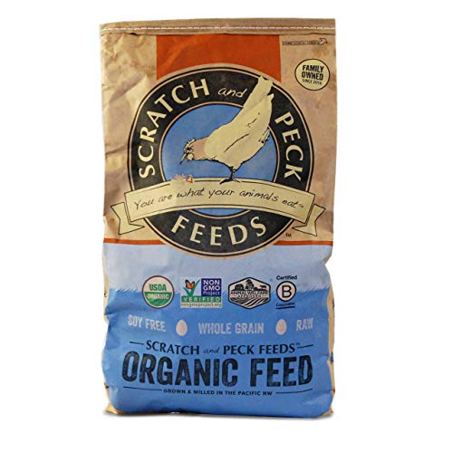 Scratch and Peck Feeds Organic Layer Feed with...