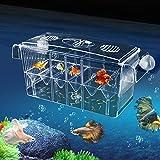 Incubateur De Poissons Aquarium Elevage Boîte De Poissons D'Écloserie Auto-immobile Et Hautement...