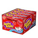 Wrigley's Hubba Bubba Seriously Strawberrry Bubble Gum 5-piece (Pack of 20)