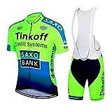 logas Ensemble Cyclisme Homme Tenue de Vélo Equipe Pro Jersey de...