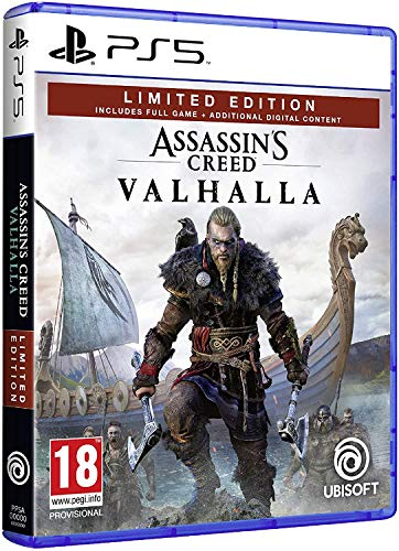 Assassin's Creed Valhalla Limited Amazon PS5
