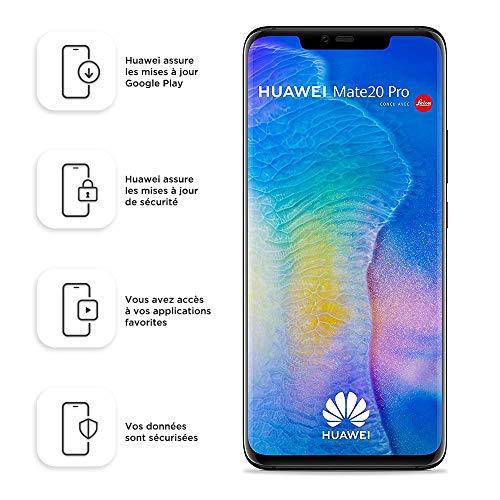 Smartphone Dual SIM Huawei Mate20 Pro de 128 GB / 6 GB - Negro (Europa...