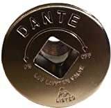 Dante Products FP.GV.SN Satin Nickel Floor Plate  for Dante Globe Valve