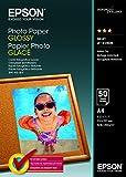 EPSON Foto Papier glänzend A4 50 Blatt 1er-Pack