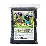 OGORI 25 x 50 ft Bird Netting Poultry Netting Protect Plants and Fruit Trees Garden Net 3/4' Mesh...