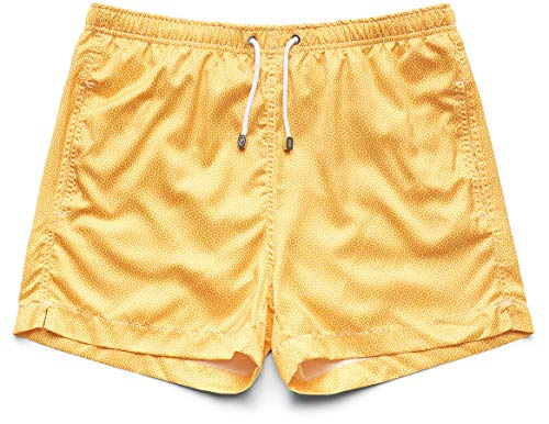 51rmn8FEVhL Slim Italian fit, wear one size larger than usual Straight leg, mid-rise style $5 donated to Coral Reef Alliance for every pair sold