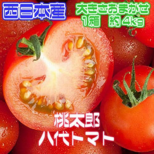 訳あり 808青果店 桃太郎 トマト 約4kg 低農薬・特別栽培農産物
