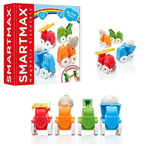 SmartMax My First Vehicles Magnetic Discovery STEM Play Set for Ages 1+