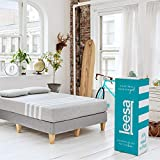 Leesa Box Mattress, California King, Gray & White
