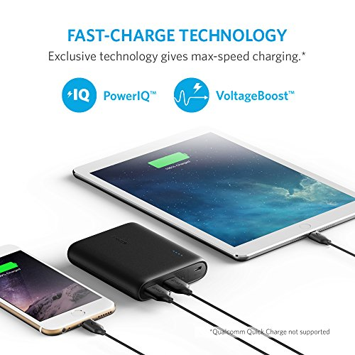 Product Image 1: Anker Powerbank PowerCore 13000 – Power Bank Tascabile Ultra-Compatto da 13000mAh a Ricarica Rapida PowerIQ e VoltageBoost per iPhone, Samsung, Huawei e Altri