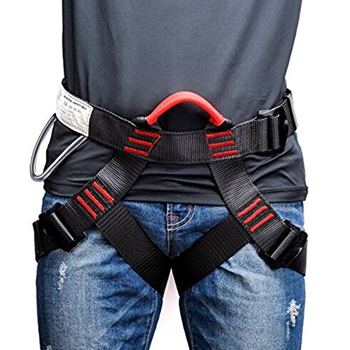 Weanas Thicken Climbing Harness, Protect Waist Safety Harness,...