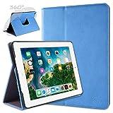 doupi Rotatif Housse pour iPad 2 3 4, Deluxe 360 Degrés Smart Coque de...