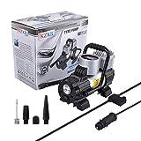 KZKR Pompe de Voiture électrique Portable Pompe Gonflable pour Voiture LCD 12 Volt 300 psi Haute qualité...