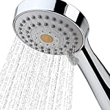 High Pressure Handheld Shower Head with Powerful Shower Spray against Low Pressure Water Supply Pipeline, Multi-functions, w/ 79'' Hose, Bracket, Flow Regulator, Chrome Finish