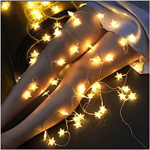 ESTEAR Luci per Tende A LED, Luci per Finestre Impermeabili per Esterni Tipo Plug-in 8 modalit Telecomando Luce Fata Luci A Stringa LED Impermeabili per Feste Decorazione Interna