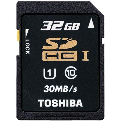 東芝 SDHC カード 32GB クラス10 UHS-I 30MB/s 並行輸入品