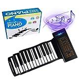 88 Keys Portable Piano With Carrying Bag,Keyboard Hand Roll Piano,Roll Up Keyboard Piano, Foldable Piano,Roll Out Piano,Kids Keyboard Piano, Travel Piano
