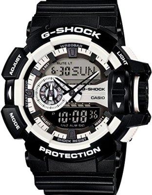 Casio G-Shock Digital Dial Polyurethane Strap Men's Watch GA-400-1A