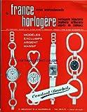 FRANCE HORLOGERE (LA) [No 306] du 01/04/1971 - JOAILLERIE - BIJOUTERIE -...