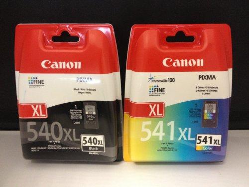 2 Original XL Drucker Patronen für Canon Pixma MX375 375 MX435 435 MX515 515 (Black/Color) Tintenpatronen