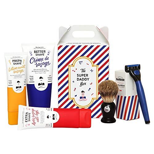 Monsieur Barbiere - Cofanetto regalo da uomo, motivo: Barba Super Daddy