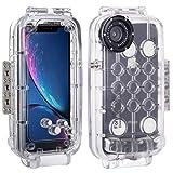 HAWEEL iPhoneXR ケース ダイビングケース 40m / 130ft 携帯ダイビンググハウジングケース 保……