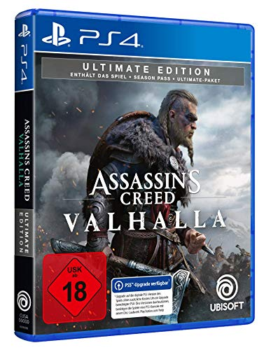 Assassin's Creed Valhalla - Ultimate Edition (kostenloses Upgrade auf PS5) | Uncut - [Playstation 4]