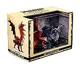 WizKids Pathfinder Battles: City of Lost Omens Premium Set: Adult Red& Black Dragons
