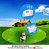 JUSTPET Wireless Fence Dog Containment Training System