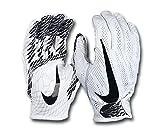 NIKE Adult Vapor Knit 2 Receiver Gloves 2017, White (M)