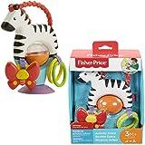 Fisher-Price Mon zèbre d'activités jouet d'éveil bébé sur ventouse,...