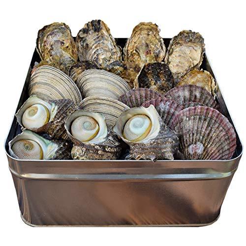 美し国 伊勢志摩 貝の海宝焼 鳥羽産 牡蠣 8個 さざえ 2個 大あさり 2個 あっぱ貝 4個 冷凍 貝セット ( ...