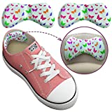 Shoe Inserts for Kids - Sticky Heel Grips for Loose Shoes - Add Extra Volume (0.5 Size) - 6 Pieces of Cute Small Sticky Cushion Pads for Kids Shoes