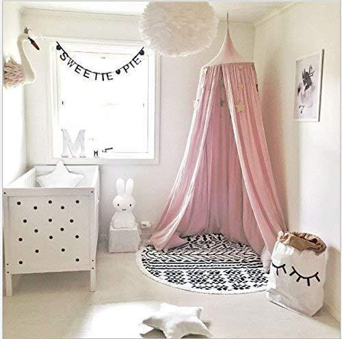 Baldacchino da letto per bambini, (altezza 240 cm, circonferenza superiore 152 cm, circonferenza...