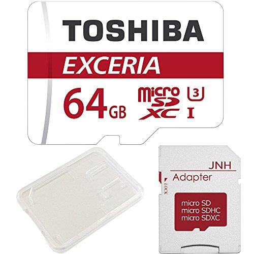 【3年保証】東芝 Toshiba 超高速U3 4K対応 microSDXC 64GB 専用SDアダプ付 並行輸入品