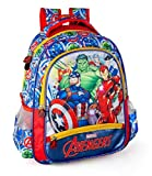 Marvel´S The Avengers Mochila 39x32x15 cm Jóvenes Niños Escuela Capitán América Thor Iron Man Hulk