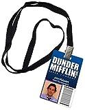 Jim Halpert Dunder Mifflin Inc. Novelty ID Badge The Office Prop Costume