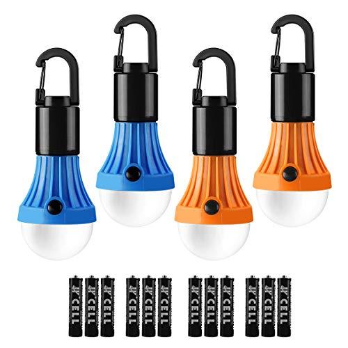 LE Lanterne de Camping, Lampe Camping à Piles (Inclus) 3 Modes...