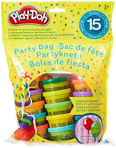 Play-Doh Partyspaß 15 kleine Dosen Knete à 28g Knetparty perfekt. Auch prima geeignet als Party-Mitgebsel oder für die Schultüte. Inklusive Sticker.