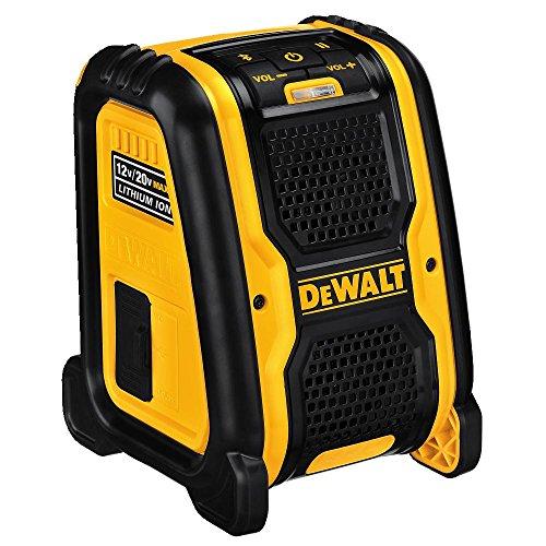 DEWALT 20V MAX Bluetooth Speaker for Jobsite (DCR006)