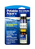 Potable Aqua Water Purification Tablets With PA Plus - Two 50 count Bottles