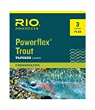 Rio Powerflex Trout Leaders, 9 Foot, 3...