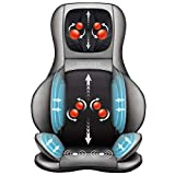 Comfier Shiatsu Neck & Back Massager – 2D/3D Kneading Full Back Massager with Heat & Adjustable Compression, Massage Chair Pad for Shoulder Neck and Back Waist Hips,Full Body