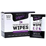 Wipex Alcohol-Free Touchscreen Cleaning Wipes for LED, LCD, Fitness Tech, Smartphones, Tablets, TVs, Monitors, Laptops, Computer Screens, 24 Ct