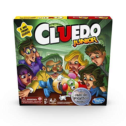 Cluedo Junior, Il caso del giocattolo rotto (gioco in scatola, Hasbro Gaming, Versione in Italiano)
