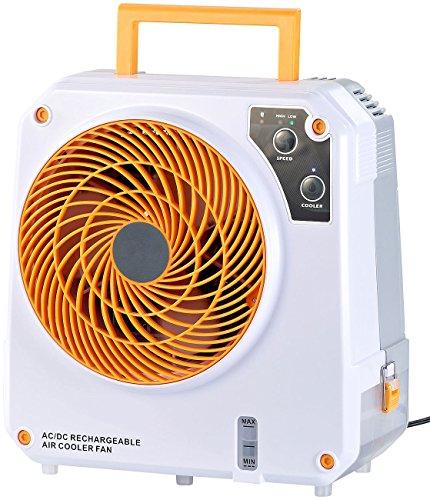 Sichler Haushaltsgeräte Akku Klimaanlage: High-Power-Akku-Luftkühler mit Wasserkühlung, 26 Watt,...