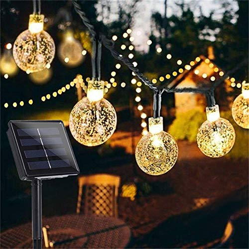 Garden Solar Lights, 50 LED 24ft 8 Modes Waterproof String Lights...