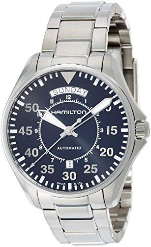 HAMILTON Herren-Armbanduhr 42MM Armband Edelstahl AUTOMATIK ANALOG H64615135