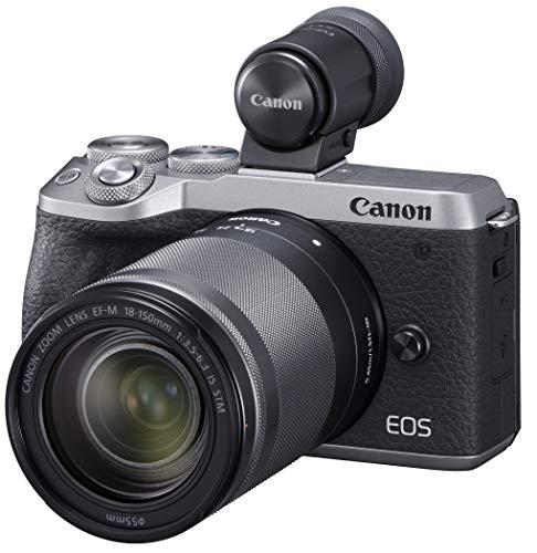 Canon ミラーレスカメラ EOS M6 Mark II (シルバー)・EF-M18-150 IS STM レンズEVFキット